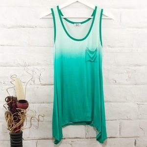 Green Ombre Tank